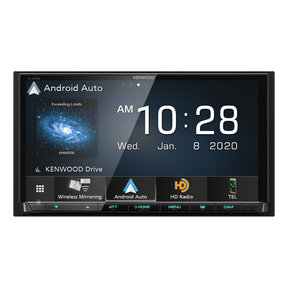 "DMX907S 6.95"" Digital Media Touchscreen Receiver w/ Apple CarPlay and Android Auto"