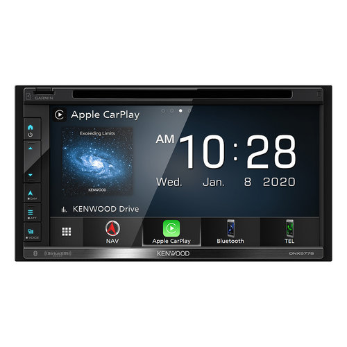 "View Larger Image of DNX577S 6.8"" Garmin Navigation Touchscreen Receiver w/ Apple CarPlay and Android Auto"