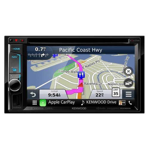 """View Larger Image of DNX693S 6.2"""" eXcelon Double-DIN AV Navigation System With Bluetooth"""