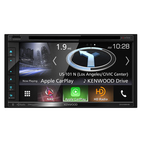 """DNX694S 6.8"""" Garmin Navigation/DVD Receiver with Apple CarPlay/Android Auto"""