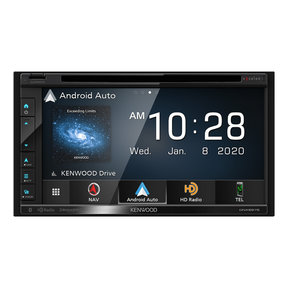 "DNX697S 6.8"" CD/DVD Garmin Navigation Touchscreen Receiver w/ Apple CarPlay and Android Auto"