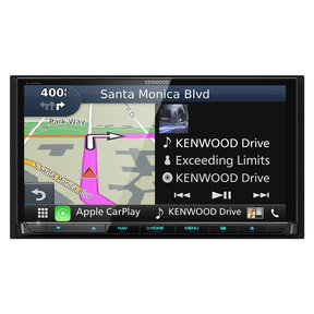 """DNX994S 6.95"""" Navigation/DVD Receiver with CarPlay and Android Auto"""