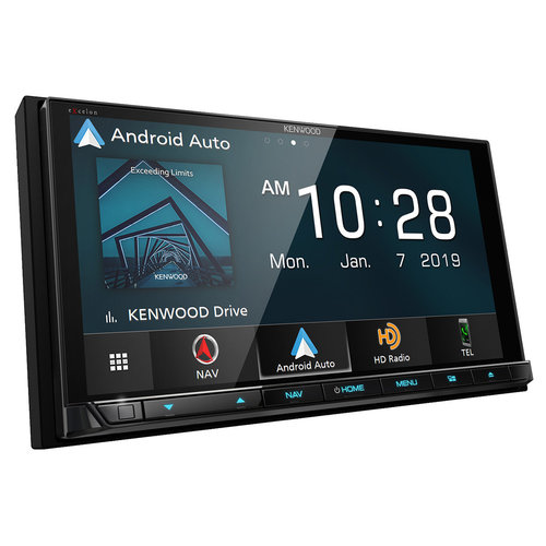 """View Larger Image of DNX996XR 6.8"""" CD/DVD Touchscreen Receiver w/ Apple CarPlay & Android Auto"""