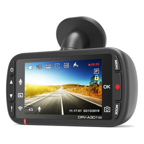 DRV-A301W GPS-Integrated 2 Megapixel HDR Dash Camera