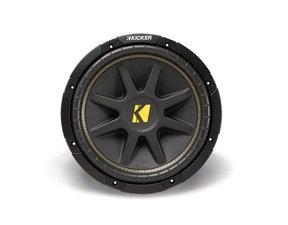 "10C12D4 Comp 12"" 4-Ohm Subwoofer - Each (Black)"