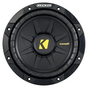 "40CWD84 8"" CompD Car Subwoofer - Each (Black)"