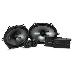 "43CSS684 6x8"" CS 2-way Component Speaker System"