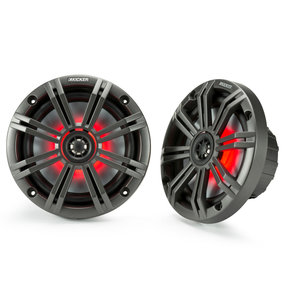 """45KM654L 6-1/2"""" LED Marine Coaxial Speakers - Pair"""