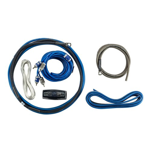 View Larger Image of 46CK8 Premium K-Series 8AWG 2-Channel Amplifier Wiring Kit