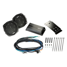 "46HDR982 5-1/4"" Coaxial Speakers and 2-Channel Amplifier for Select 1998-2013 Harley-Davidson Motorcycles"