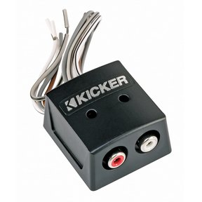 46KISLOC K-Series 2-Channel Speaker Wire-to-RCA Line Output Converter