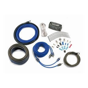 CK4 4AWG 2-Channel Amplifier Wiring Kit