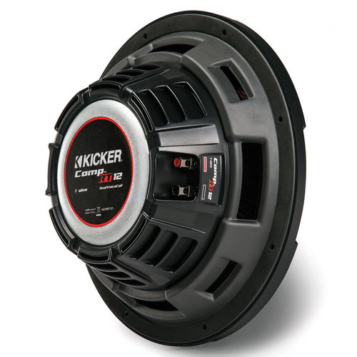 "View Larger Image of 43CWRT122 12"" Shallow-Mount CompRT 500-Watt Dual 2-Ohm Voice Coil Subwoofer"