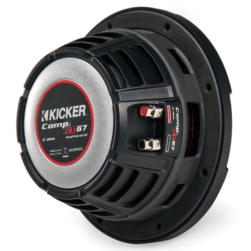 """View Larger Image of 43CWRT672 6-3/4"""" Shallow-Mount CompRT 150-Watt Dual 2-Ohm Voice Coil Subwoofer"""