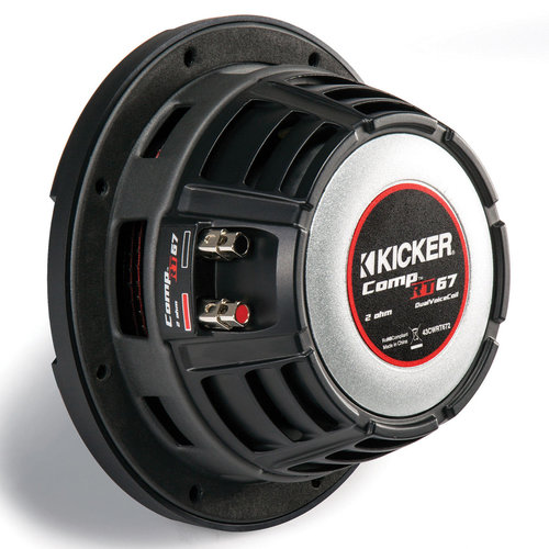 """View Larger Image of CompRT 6.75"""" 2-Ohm Subwoofer"""
