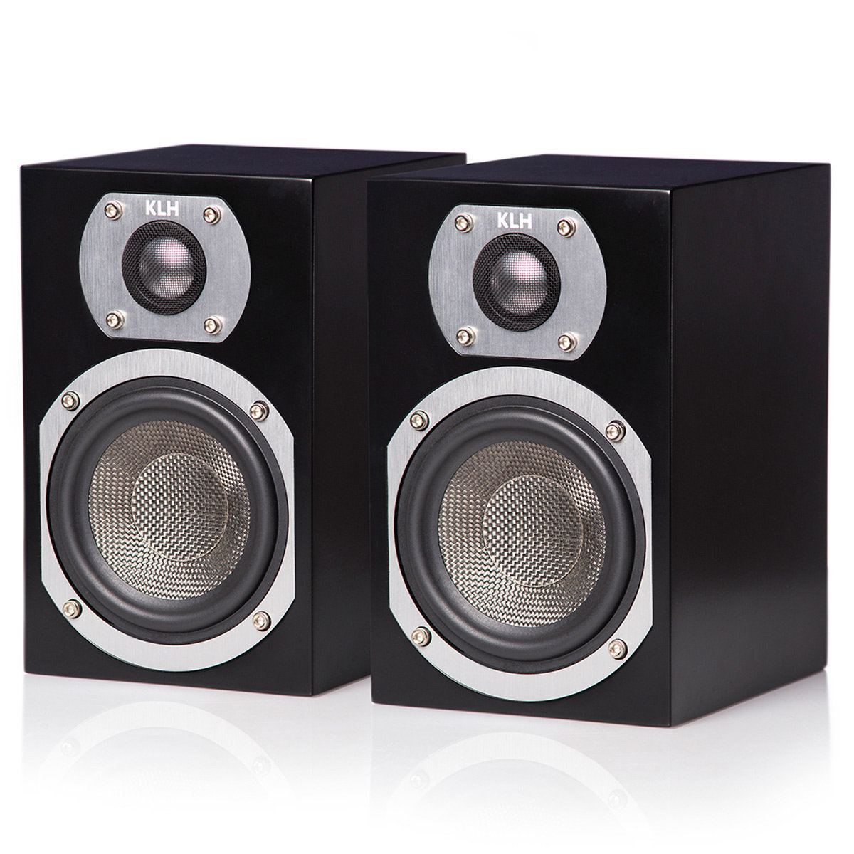 View Larger Image Of Ames 2 Way Bookshelf Speakers