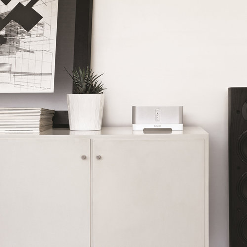 View Larger Image of Ames 2-Way Bookshelf Speakers with Sonos CONNECT:AMP Wireless Amplifier for Streaming Music