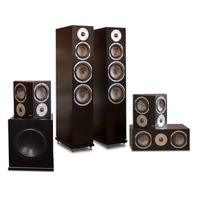 "Kendall 5.1 Speaker System with 10"" Subwoofer (Black Oak)"