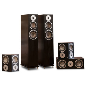 Quincy 5.0 Speaker System (Black Oak)