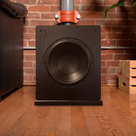 """View Larger Image of Quincy 5.1 Speaker System with 10"""" Subwoofer (Black Oak)"""