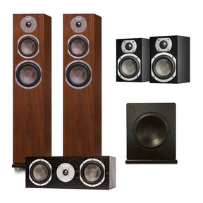 "Quincy 5.1 Speaker System with Windsor 10"" Subwoofer"