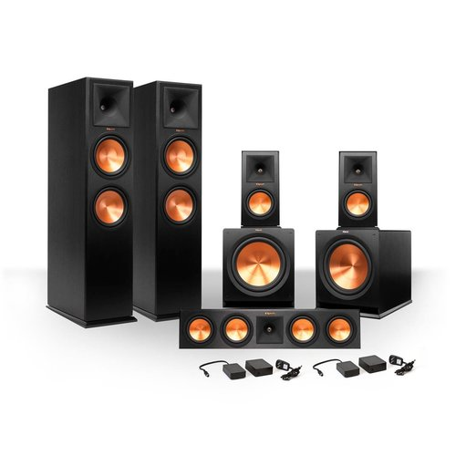 View Larger Image of 5.2 RP-280 Reference Premiere Speaker Package with R-115SW Subwoofers andTwo FREE Wireless Kits