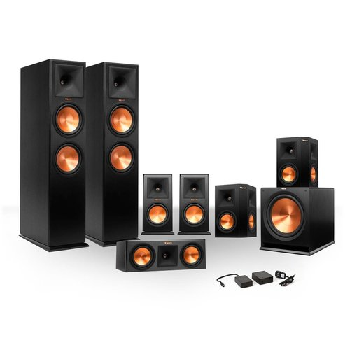 View Larger Image of 7.1 RP-250 Reference Premiere Surround Sound Speaker Package with R-110SW Subwoofer and FREE Wireless Kit