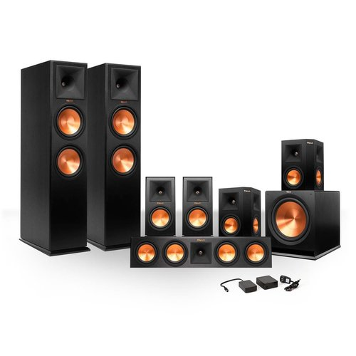 View Larger Image of 7.1 RP-260 Reference Premiere Surround Sound Speaker Package with R-112SW Subwoofer and FREE Wireless Kit