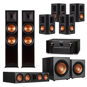 7.2.2 Reference Premiere Home Theater System with Marantz SR7013 9.2-Channel AV Receiver