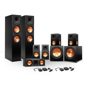 7.2 RP-250 Reference Premiere Surround Sound Speaker Package with R-110SW Subwoofers and Two FREE Wireless Kits