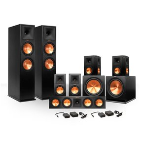 7.2 RP-260 Reference Premiere Surround Sound Speaker Package with R-112SW Subwoofers and Two FREE Wireless Kits
