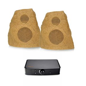 AWR-650-SM All Weather 2-Way Speakers with PowerGate Audio Streaming Device