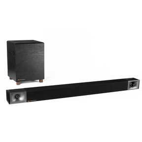 BAR 40 2.1 Sound Bar with Wireless Subwoofer (Black)