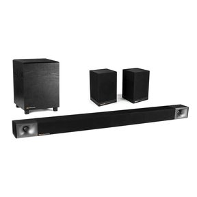 "Cinema 600 3.1 Channel High-Performance Sound Bar with 8"" Wireless Subwoofer and Surround 3 2.0 Wireless Surround Speakers (Pair)"