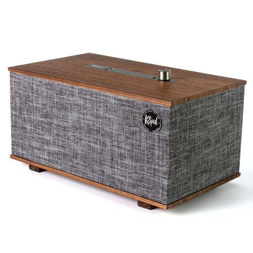 View Larger Image of Heritage Wireless Three Tabletop Stereo System with Google Assistant (Walnut)