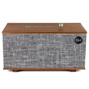 Heritage Wireless Three Tabletop Stereo System with Google Assistant (Walnut)