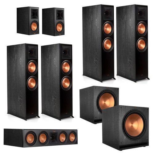 Klipsch RP-8060FA 7.2.4-Ch Home Theater in a Box