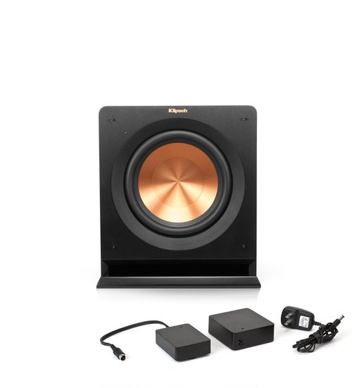 """View Larger Image of R-110SW 10"""" Powered Subwoofer with WA-2 Wireless Subwoofer Kit"""