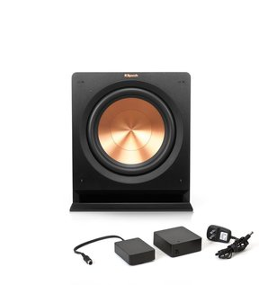 """R-112SW 12"""" Powered Subwoofer with FREE WA-2 Wireless Subwoofer Kit."""