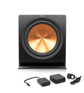 R-115SW Powered Subwoofer with FREE WA-2 Wireless Subwoofer Kit