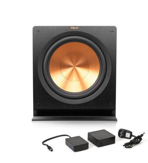 View Larger Image of R-115SW Powered Subwoofer with FREE WA-2 Wireless Subwoofer Kit