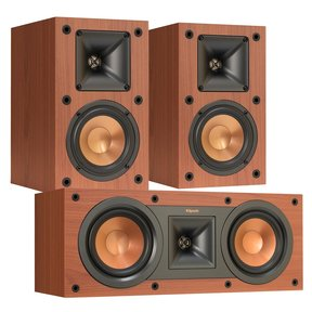 R-14M Reference Monitor Speakers with R-25C Reference Center Speaker (Cherry)