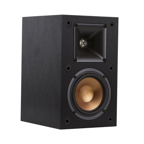 """View Larger Image of R-14M Reference Monitor Speakers with Sanus NF18B 18"""" Speaker Stands - Pair (Black)"""