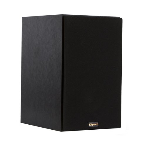"""View Larger Image of R-14M Reference Monitor Speakers with Sanus NF24B 24"""" Speaker Stands - Pair (Black)"""