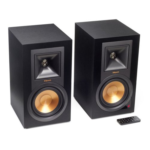 View Larger Image of R-15PM Powered Monitor Speakers and Pro-Ject Primary Turntable Package (Black)