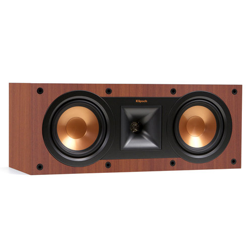 View Larger Image of R-24F Reference Floorstanding Speakers with R-14M Reference Monitor Speakers and R-25C Center Speaker (Cherry)