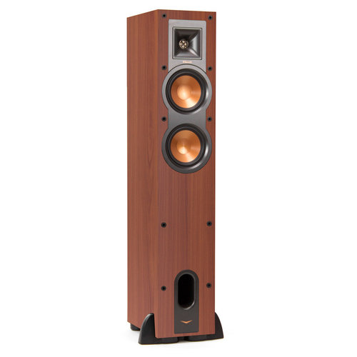 View Larger Image of R-24F Reference Floorstanding Speakers with R-25C Reference Center Speaker (Cherry)