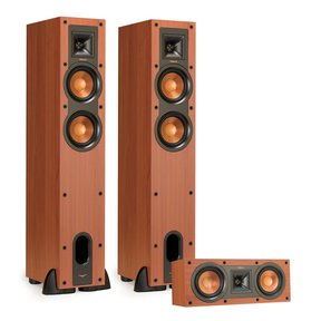 R-24F Reference Floorstanding Speakers with R-25C Reference Center Speaker (Cherry)