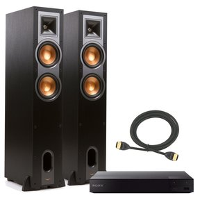 R-26F Reference Floorstanding Speakers with Sony BDP-S6700 Blu-ray Disc Player and CableTruth 6-foot HDMI Cable