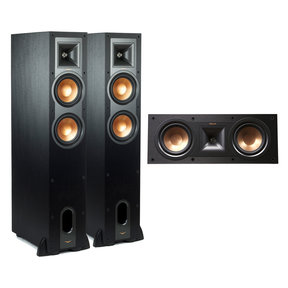 R-26FA Dolby Atmos Floorstanding Speakers with R-25C Reference Center Speaker (Black)